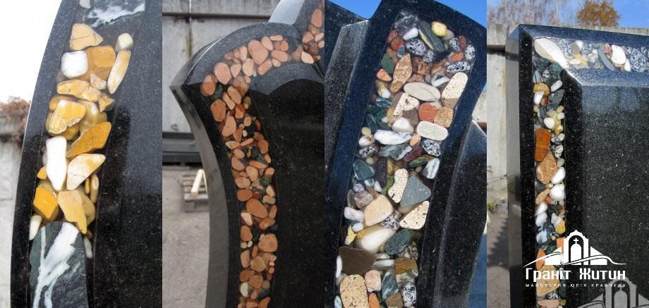 Пам'ятники з інкрустацією