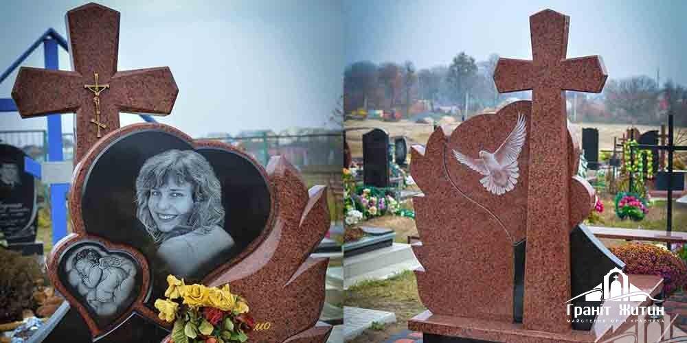 Релігійні символи на надгробних пам'ятниках